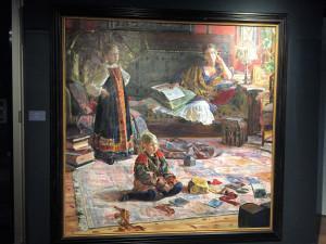 Exposition Ivan Glazounov « Le pèlerinage de l'âme »  jusqu'au 7 Octobre 2018