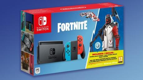 Un pack Fornite avec la Switch