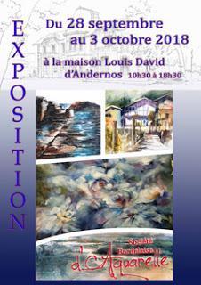 exposition avec la SAB de Bordeaux à la maison Louis David d'Andernos les Bains