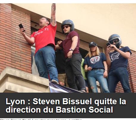 la verrue raciste du #BastionSocial de Lyon perd son chef