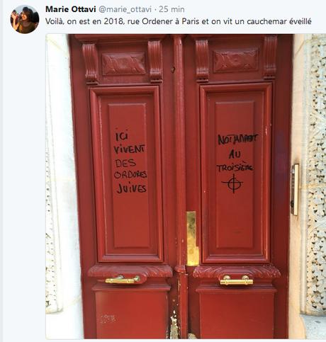 Rue Ordener, Paris #antisemitisme