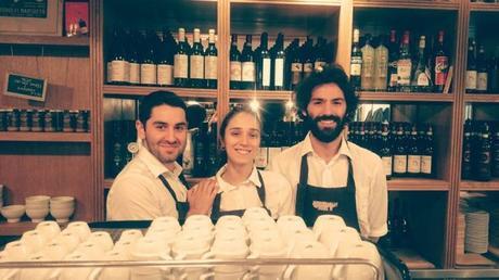 L'Equipe du restaurant La Salsamenteria Di Parma