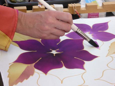 Question: Peinture et feutres textiles