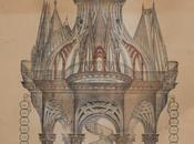 lithographie 1853 représentant chef-d'œuvre compagnons passants charpentiers, Berryer