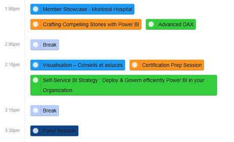 Power BI World Tour: Découvrez l'horaire de Montréal!