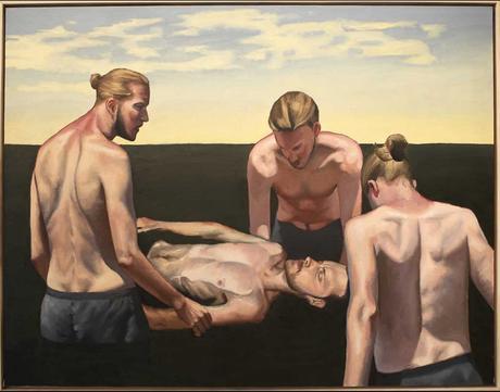 francois-malingrey,painting,neo-realism,courbet,palais-de-tokyo,paris,2015
