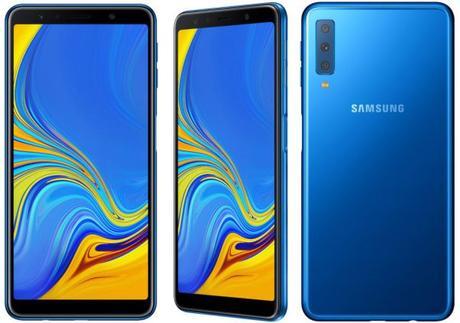 Samsung a dévoilé le Galaxy A7 (2018).