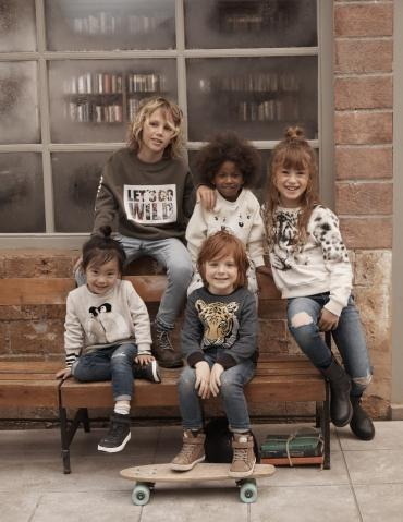 H&M lance une collection pour enfants...