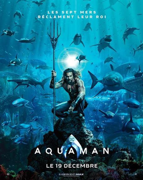 Nouveau trailer international pour Aquaman de James Wan