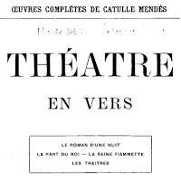 Le roi de Bavière inspira 'La part du Roi' la deuxième pièce de Catulle Mendès