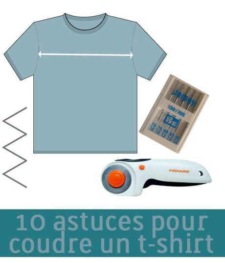 10 astuces pour coudre un t-shirt