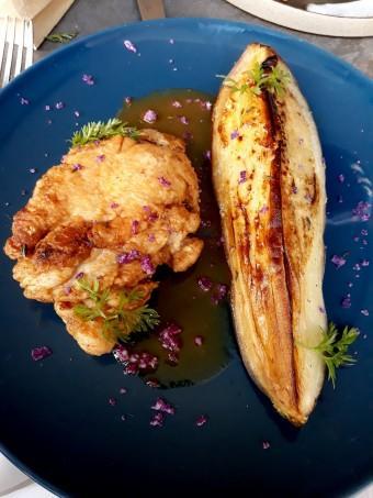 Ris de veau aubergine © Gourmets&co
