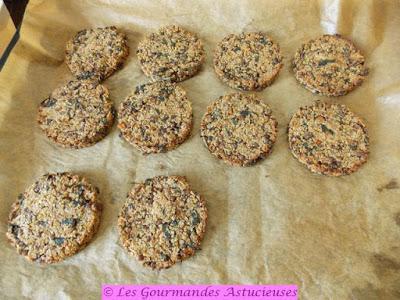 Galettes quinoa-lentilles-chou-noix (Vegan)