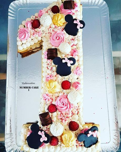 Number Cake 1