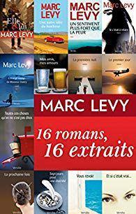 Chronique de lecture : 16 romans, 16 extraits de Marc Lévy