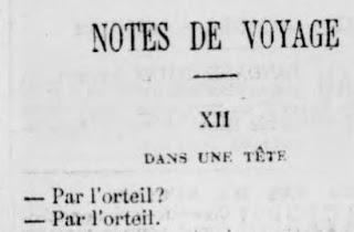 Anecdote munichoise: un Français sur la Wiesn. Quand Catulle Mendès rendait visite à  la Bavaria.