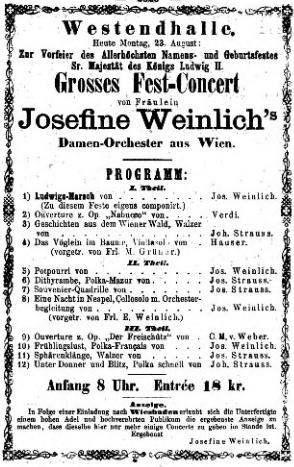 Une anecdote munichoise de 1869: Un orchestre invraisemblable, par Catulle Mendès