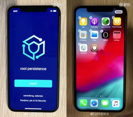 Le jailbreak iOS 12 Untethered déjà réussi par Ali Security !