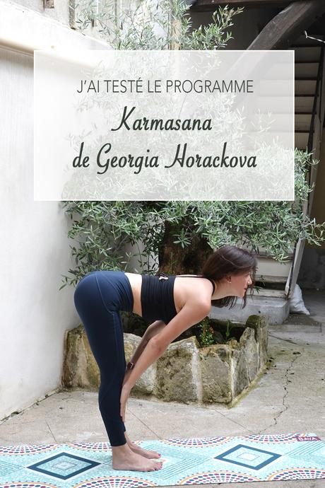 J'ai testé : le programme Karmasana de Georgia