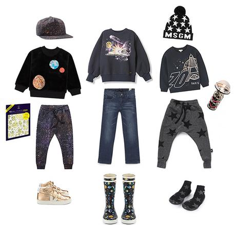 Boys galaxy fashion