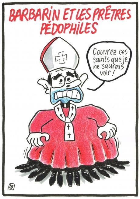 webzine,bd,gratuit,zébra,fanzine,bande-dessinée,caricature,cardinal,barbarin,pédophilie,dessin,presse,satirique,editorial cartoon,lb,siné-mensuel