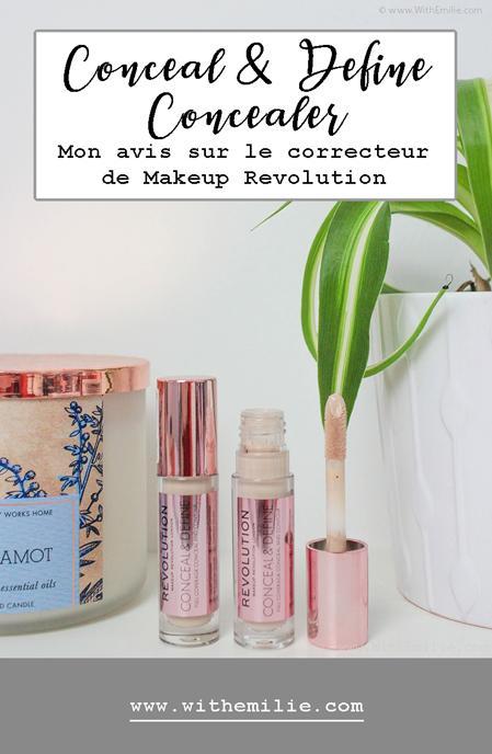 Le Correcteur Conceal & Define | Makeup Revolution