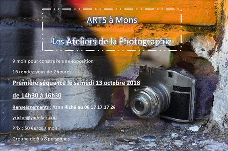 Ateliers Photo avec Arts à Mons 2018-2019