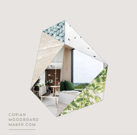 Moodboard Maker by Corian® Design : l'outil créatif
