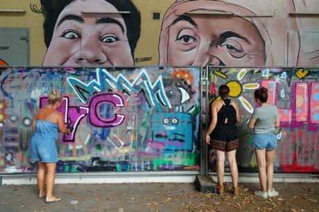 autriche linz hafen street art port mural harbor