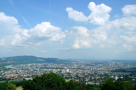 autriche linz pöstlingberg vue panorama