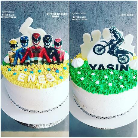 Layer Cake kinder double thème
