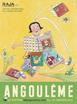 Bernadette Després au FIBD d'Angoulême