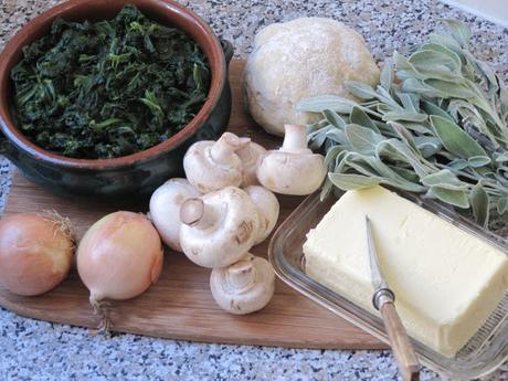Rotolo di spinaci (roulé aux épinards)