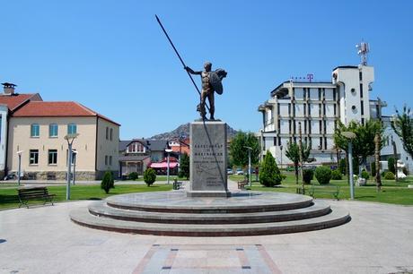 macédoine prilep statue alexandre le grand