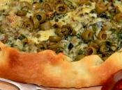 Pide Pizza fourme d'Ambert.