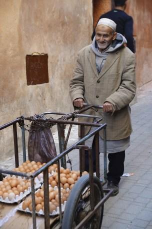 Le vendeur d'oeufs