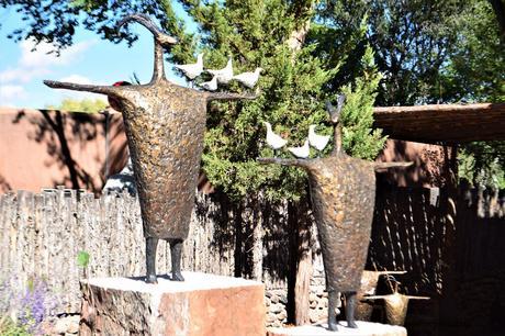 Santa Fe une ville mexicaine remplie de galeries d'art