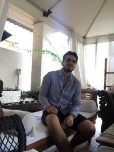 L'interview de Maxime, à Singapour