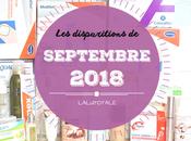 disparitions Septembre 2018