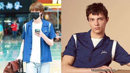 STYLE : Darren Chen 官鴻  wearing a Sandro shirt