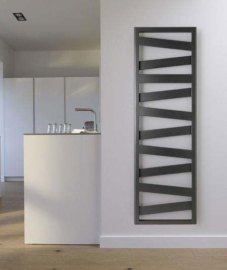 radiateur sèche-serviettes cuisine gris noir chrome architecture acova radiateur électrique clemaroundthecorner blog déco