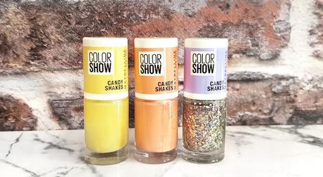 Dans ma vernithèque #7  Color Show Candy Shakes de Maybelline