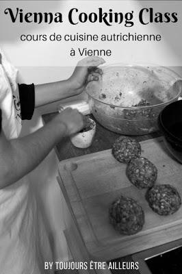 Vienna Cooking Class propose des cours de cuisine à Vienne pour apprendre à préparer des spécialités autrichiennes: Schnitzel, Apfelstrudel, Knödel...