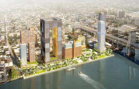 les rives nord ouest de brooklyn, le nouveau new york