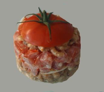Tomates crevettes revisitées