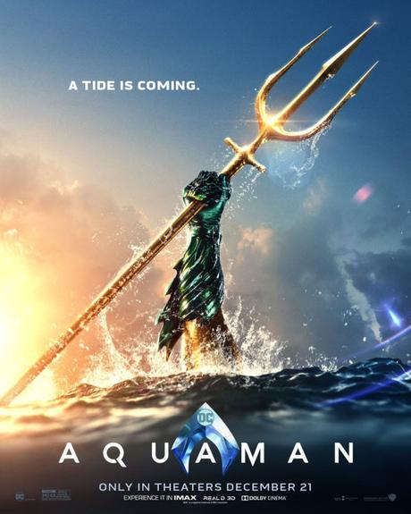 Aquaman: la très loooongue bande annonce!