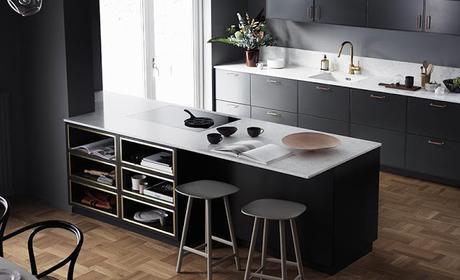 Project Inside / 10 idées de cuisines noires /