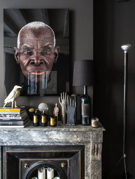 Un appartement dark à Lyon