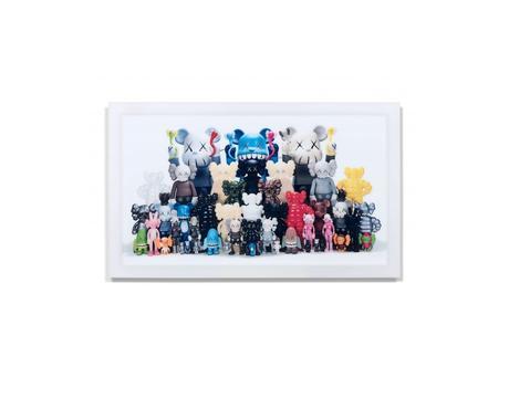 Artcurial va mettre en vente des oeuvres de Bansky, Kaws et Murakami