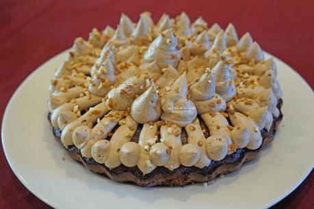 Brownie Praliné et sa crème Mousseline Pralinée